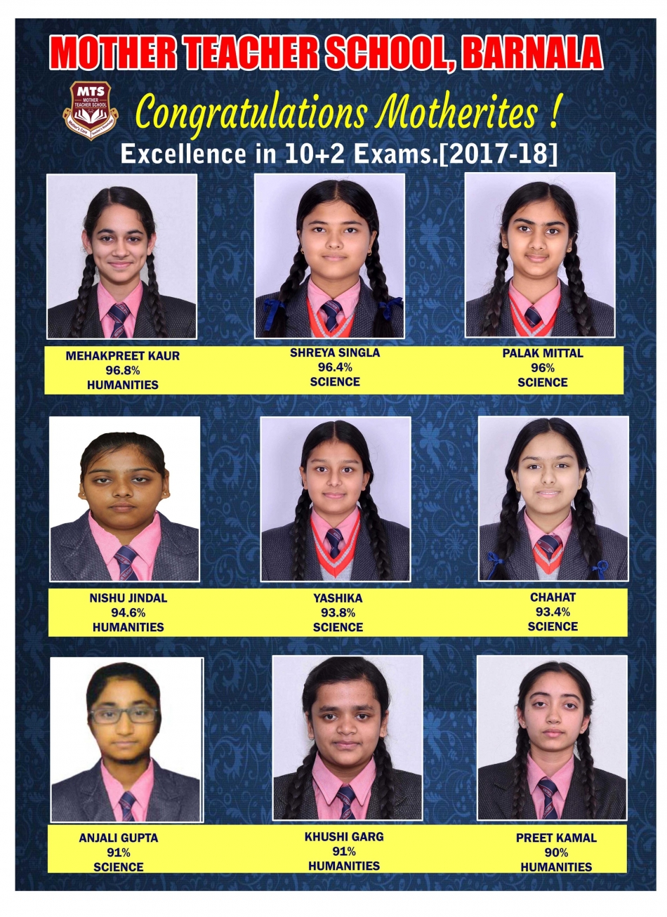 CBSE RESULT 2017-18 CLASS XII